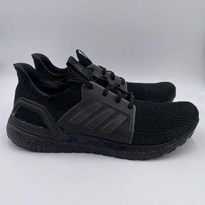 adidas Ultraboost 19 Triple Black Mens Shoes
